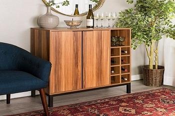 kệ đựng rượu bằng gỗ